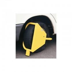 Antivol bloque roue haute sécurité avec serrure blindée