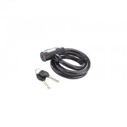 Câble antivol à clé 100 cm