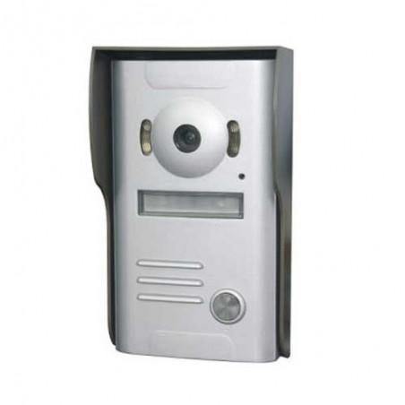 Interphone video miroir rond