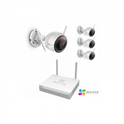 Kit de vidéo wifi ezviz 4 caméras sans fil