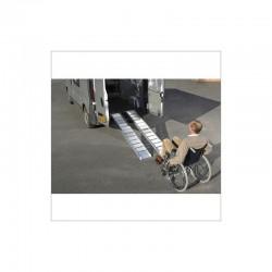 Rampe en aluminium lisse supporte 200kg - la paire